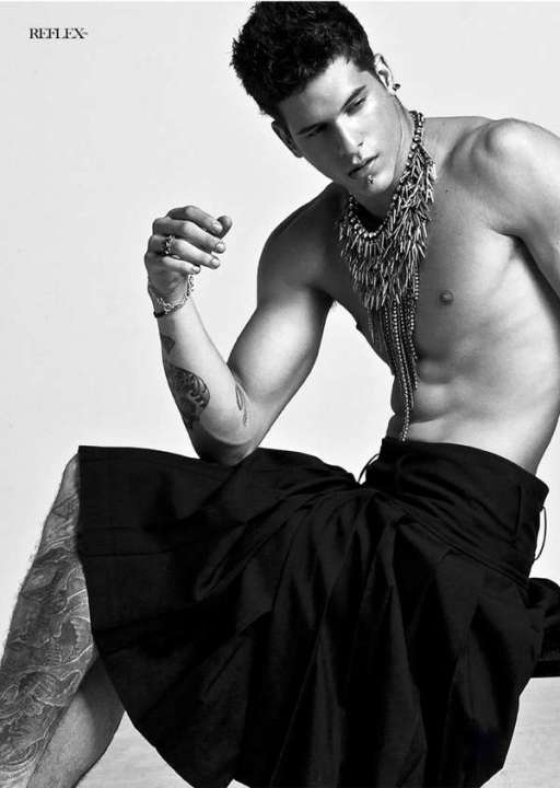 May 2013 diego-fragoso Reflex Homme magazine ornate head piece PH by Eric Alessi and Tai Wu